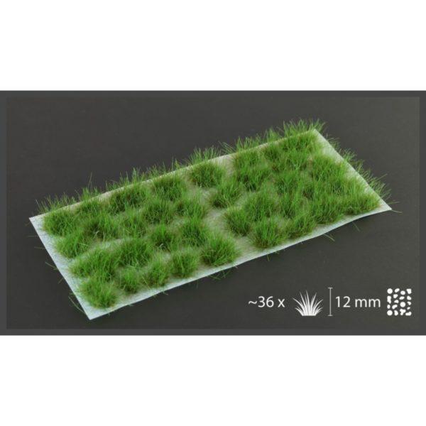 Gamers Grass Strong Green 12mm XL Tufts Wild - bigpandav.de