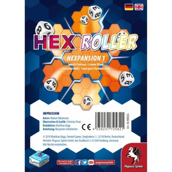 HexRoller: Hexpansion 1 - bigpandav.de