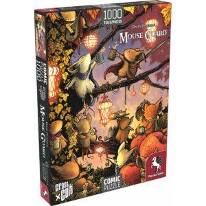 Puzzle--Mouse-Guard-(Das-Fest),-1.000-Teile_0 - bigpandav.de