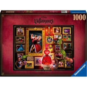 Puzzle Villainous Queen of Hearts - bigpandav.de