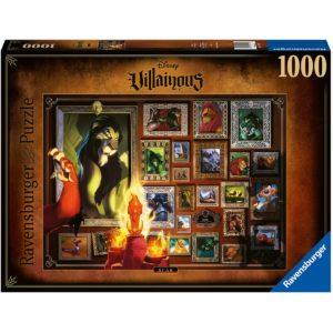 Puzzle Villainous Scar 1000 Teile - bigpandav.de