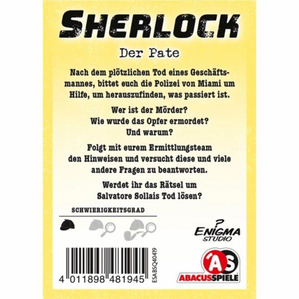 Sherlock---Der-Pate_1 - bigpandav.de