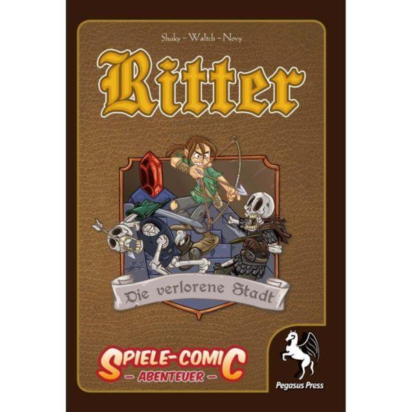 Spiele-Comic-Abenteuer--Ritter---Die-verlorene-Stadt-(Hardcover)_1 - bigpandav.de