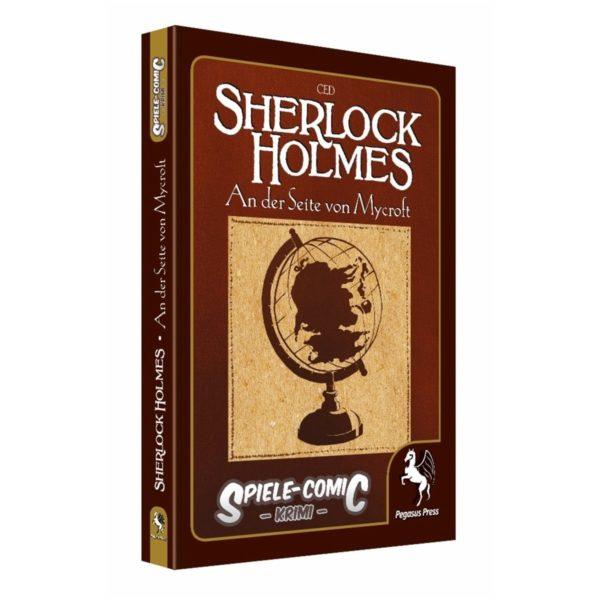 Spiele-Comic-Krimi--Sherlock-Holmes---An-der-Seite-von-Mycroft-(Hardcover)_0 - bigpandav.de