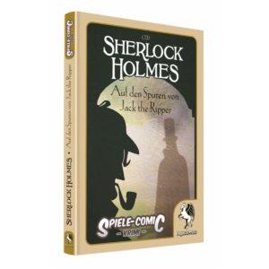 Spiele-Comic-Krimi--Sherlock-Holmes---Auf-den-Spuren-von-Jack-the-Ripper-(Hardcover)_0 - bigpandav.de
