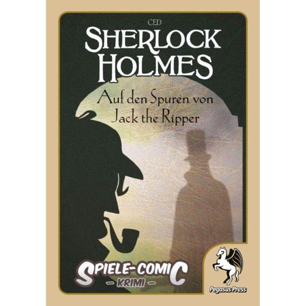Spiele-Comic-Krimi--Sherlock-Holmes---Auf-den-Spuren-von-Jack-the-Ripper-(Hardcover)_1 - bigpandav.de